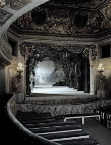 Theatre of Queen Marie Antoinette at the Petit Trianon by Richard Mique