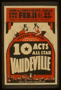 vaudevilleposter